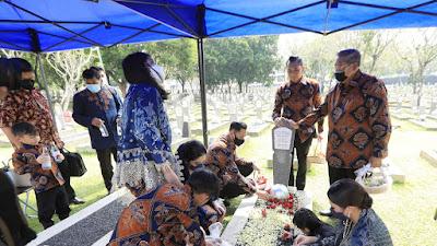 Mengharukan, Keluarga Besar SBY Lebaran Tanpa Kehadiran Ibu Ani Yudhoyono