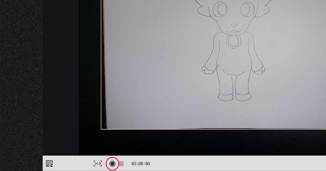 CZUR Shine専用ソフトで録画