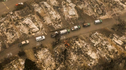 Oregon is bracing for a mass killing as wildfires rage in the western states