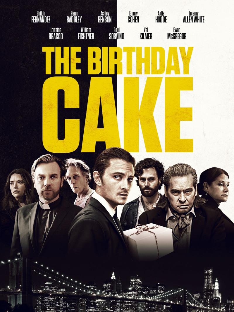 the birthday cake poster