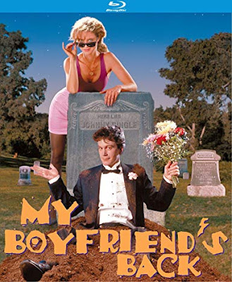 Bluray cover for Kino Lorber's Special Edition Blu-ray of MY BOYFRIEND'S BACK.