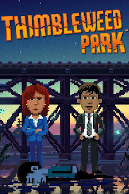 Portada videojuego Thimbleweed Park