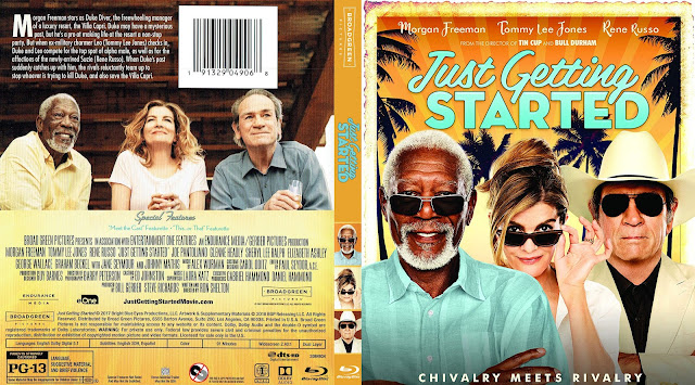 Just Getting Started Bluray Cover