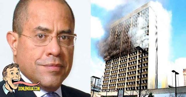 Vladimir Villegas sabe por qué incendiaron el Ministerio de Educación