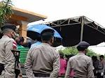 Guyuran Hujan, Iringi Pemakaman Kapolsek Rote Selatan