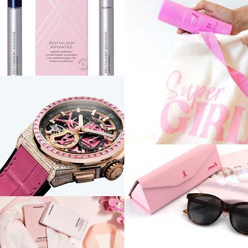 Ediciones rosas cáncer de mama