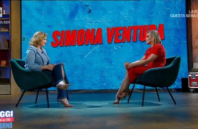 Serena Bortone Simona Ventura oggi è un altro giorno 19 aprile