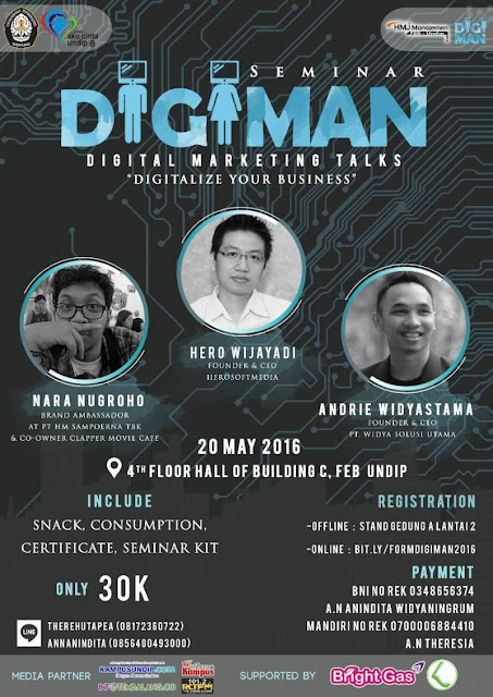 Digital Marketing Talks HMJM Undip