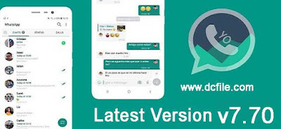 How to Download Yo WhatsApp APK latest version v7.70 Official apk Ads free