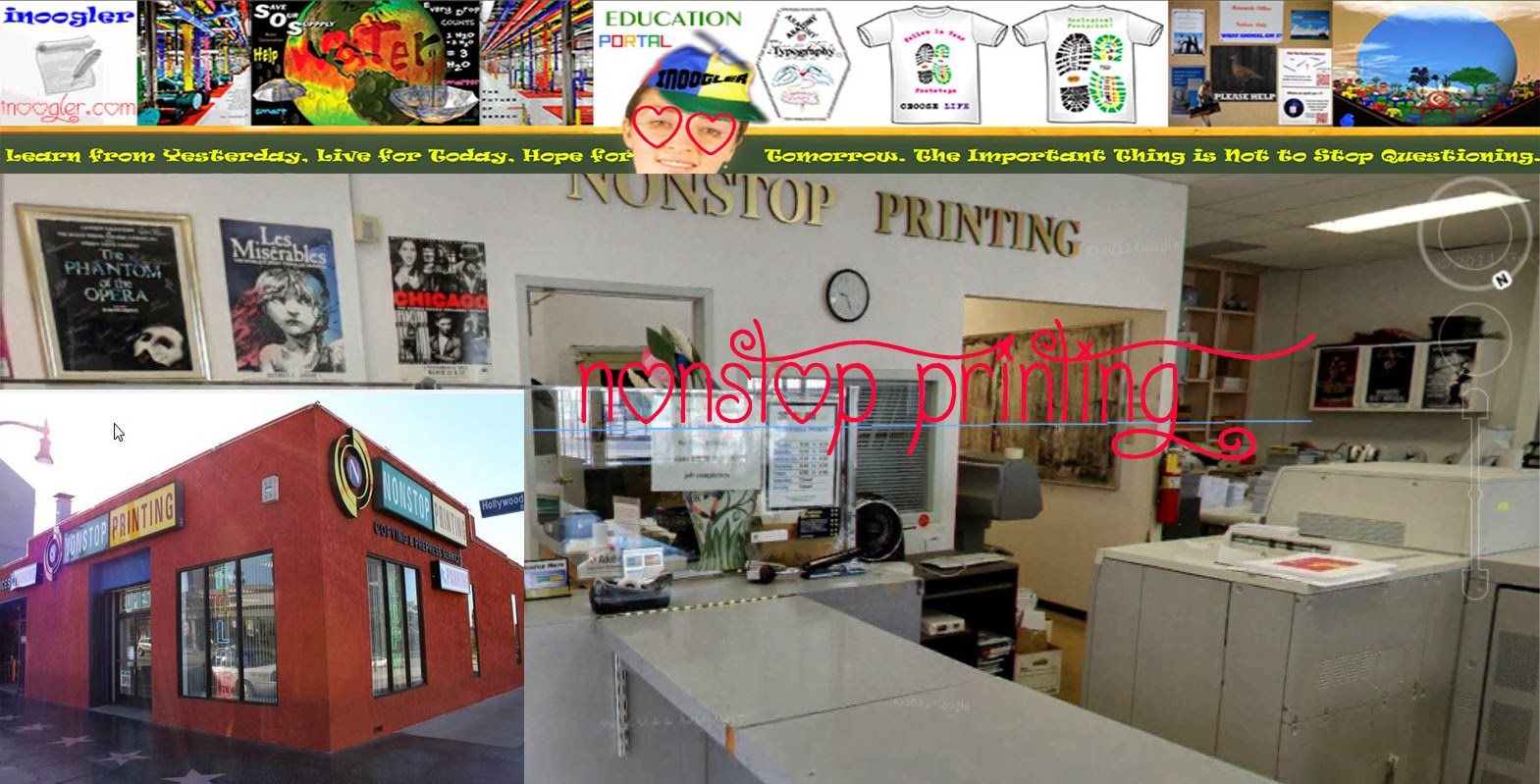 NONSTOP PRINTING HOLLYWOOD CALIFORNIA