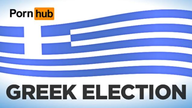 Αλήθεια, τι έβλεπαν οι Έλληνες την ημέρα των εκλογών στο Pornhub;