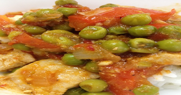Manok Sa Guisantes Recipe