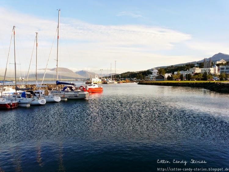 Hafen von Akureyri