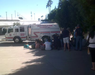 Scottsdale Fire Truck - October 13, 2016 - Civic Center Library