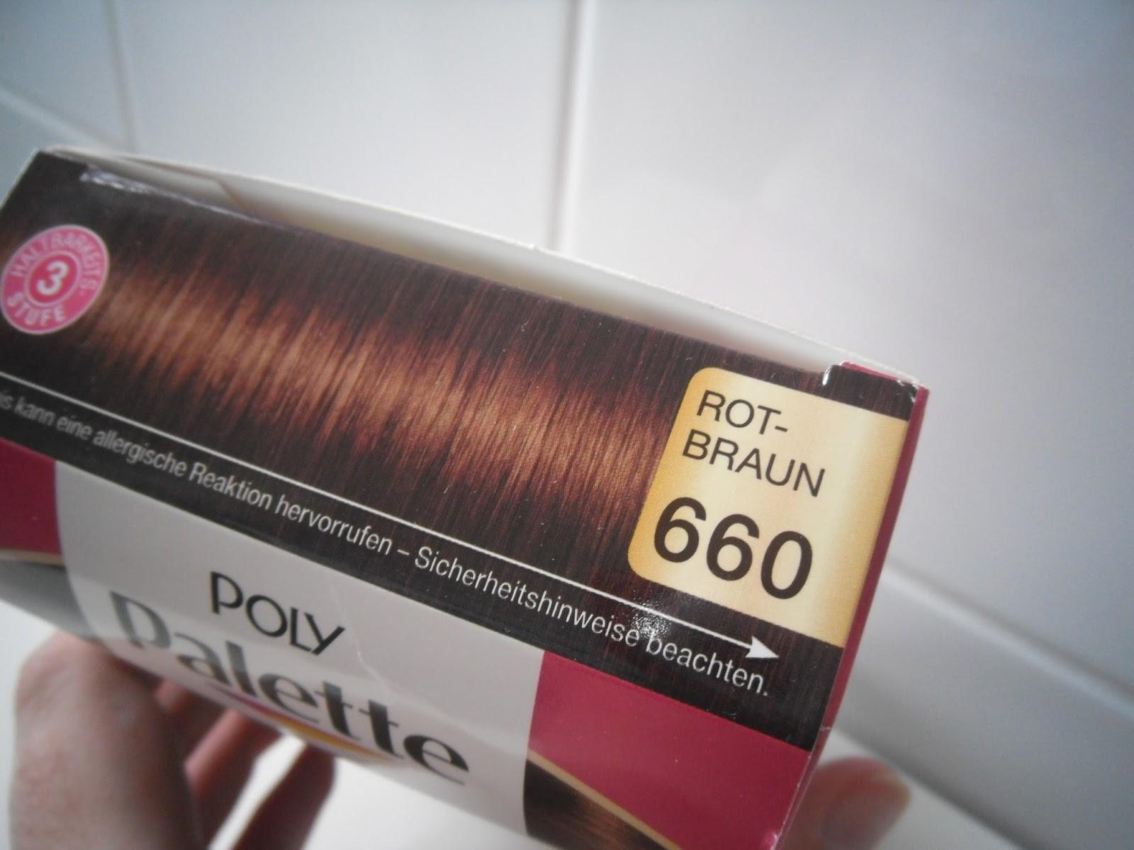 gro stadtgedanken poly palette 660 rotbraun intensiv creme coloration vorher vs nachher. Black Bedroom Furniture Sets. Home Design Ideas