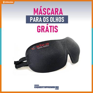 Brindes Grátis - Máscara de descanso gratuita