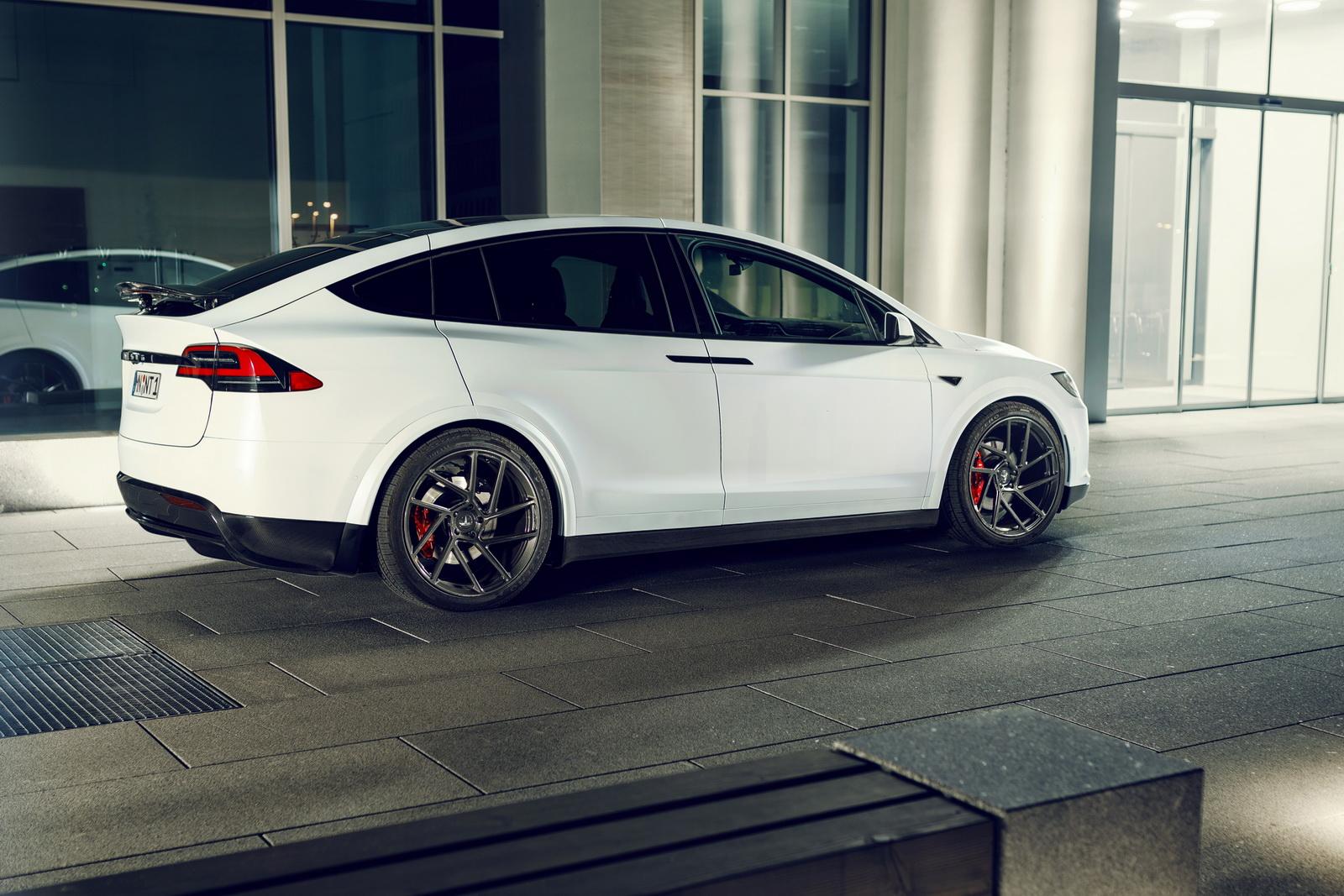 Tesla Model X Is Novitec S First Custom Ev W Videos
