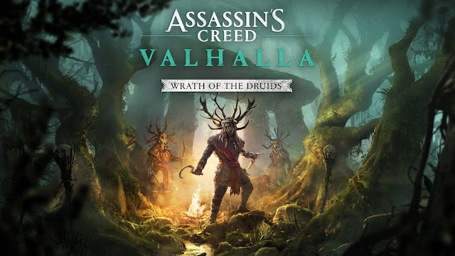 Assassin's Creed Valhalla - Druids Wrath Expansion coming tomorrow - Here's what it brings   TechNeg