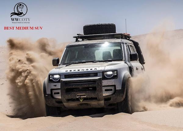 MELHOR SUV MÉDIO - Land Rover Defender