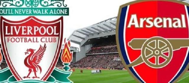 موعد مباراة ليفربول وارسنال والقنوات الناقلة لها ومعلق مباراة ارسنال وليفربول درع إتحاد كرة القدم الإنجليزي (النهائي)