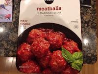 Publix Meatballs in Marinara Sauce
