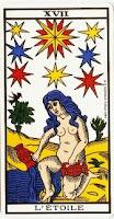 La Estrella- Tarot Marsella
