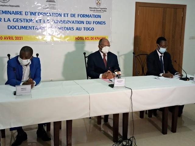 Prise de conscience autour de la gestion et la conservation du fonds documentaire des médias togolais