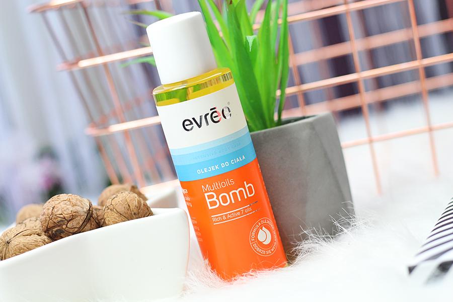 Evrēe Multioils Bomb - Upiększający olejek do ciała