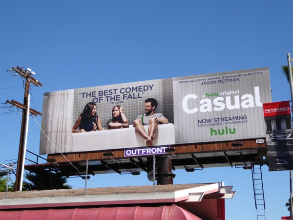 Casual Best comedy of the Fall billboard