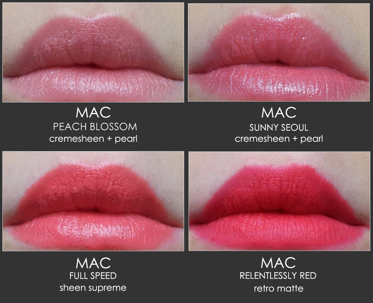 Mac Lipstick Samples f...