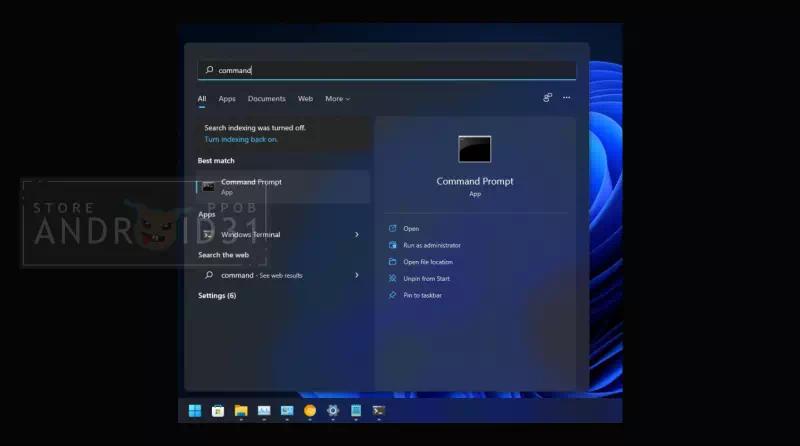 5 Cara Membuka Command Prompt di Windows 11