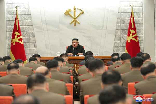 Kim Jong Un Guides First Enlarged Meeting of 8th CMC