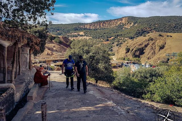 ascenso a cascadas de I'Oum-er-Rbia