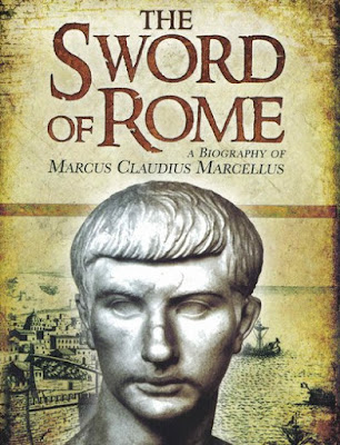 Marcus Claudius Marcellus, general and leading consul of the Roman Republic, claimed fame for his killing of the king of the northern Italian Celtic Gauls in the campaign that gained Milan-Mediolanum for Rome - book cover of biography by J. McCall