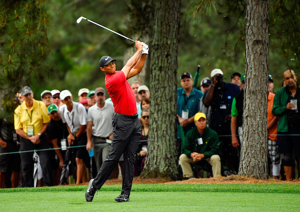 Tiger Woods Iron Play On the Fairway