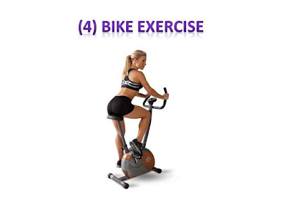 Bike Exercise - 5 Best exercise for belly fat at home