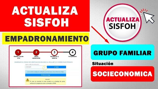 Actualiza HOY Tus Datos En SISFOH Para Poder COBRAR Los 600 SOLES