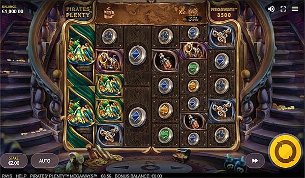 Main Gratis Slot Indonesia - Pirates Plenty Megaways Red Tiger Gaming