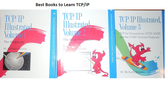 best books to learn TCP IP