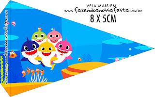 Fiesta de Baby Shark: Imprimibles Gratis para Fiestas.