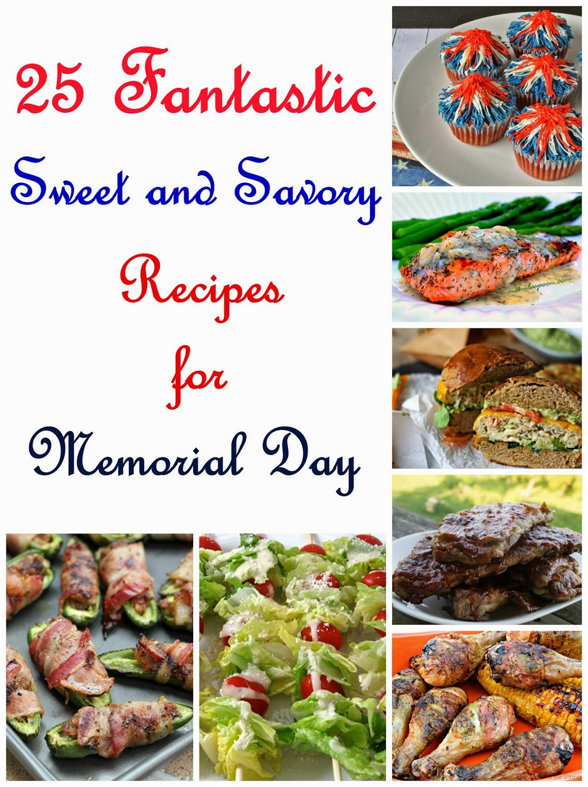 25 Fantastic Recipes to Celebrate Memorial Day