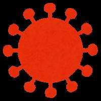 コロナウイルスの変異株のイラスト6