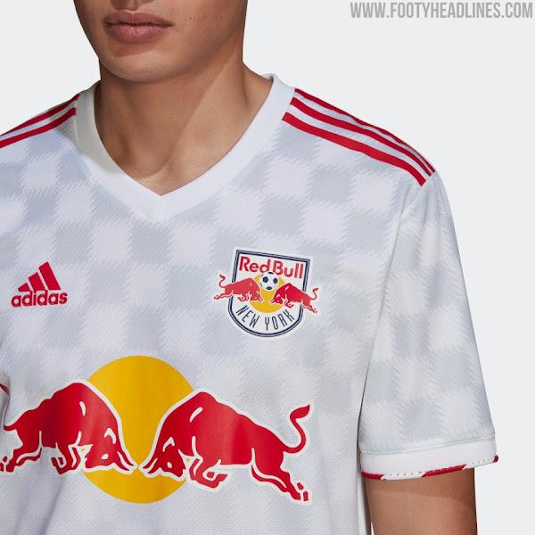 New York Red Bulls 2021 Home Kit Released - Footy Headlines