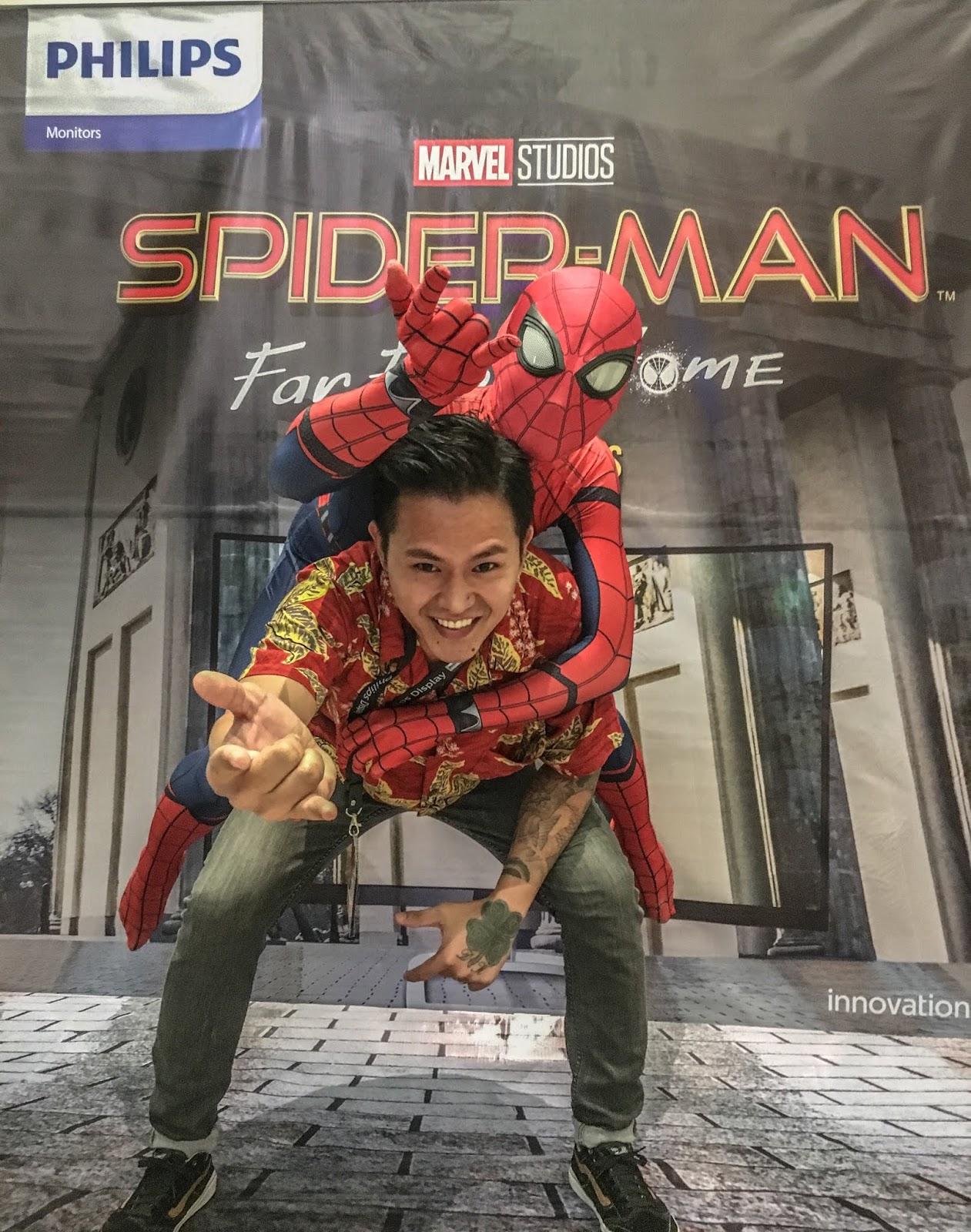 Spiderman Philips Monitor Cebu Blogger LydelD