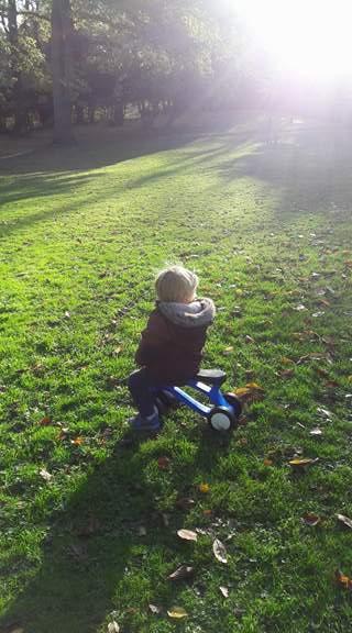 Toddlebike2, Outdoors