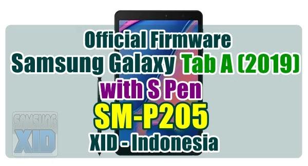 Firmware Samsung Galaxy Tab A 2019 bahasa indonesia