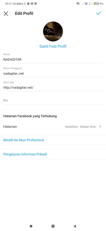 Contoh Situs Web Instagram Keren Beserta Cara Membuatnya Nadagitar