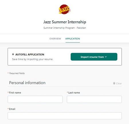 Jazz-summer-internship-2021-apply-online
