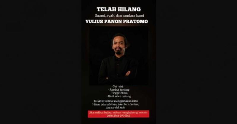 Mohon Doanya, Komposer Musik Gereja Yulius Pratomo Dikabarkan Hilang di Solo