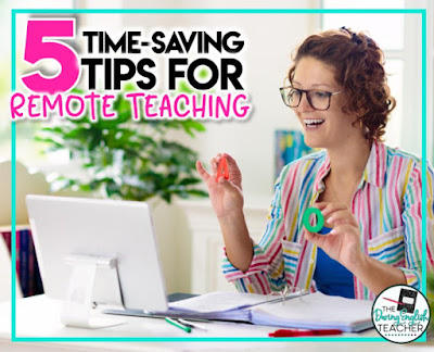 Time-saving tips for distance teaching
